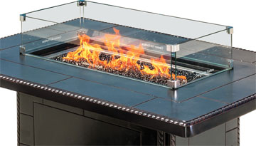 Gas Fire Pit Accessories