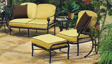 yellow patio furniture. Verona Yellow Patio Furniture