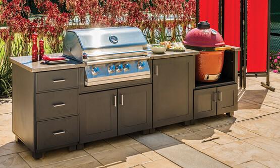 outdoor kitchens - gensun casual living