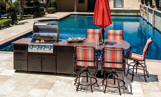 Outdoor Kitchen Furniture | Outdoor Kitchens Gensun