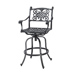 Michigan Cushion Swivel Bar Stool