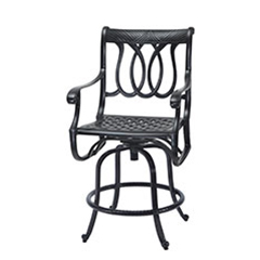 Largo Swivel Balcony Stool