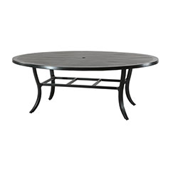 "Channel 62"" x 82"" Geo Dining Table"