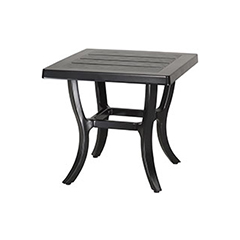 "Channel 22"" Square End Table"