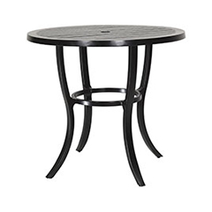 "Channel 44"" Round Bar Table"
