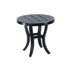 "Channel 22"" Round End Table"