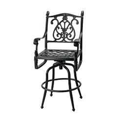 Florence Cushion Swivel Bar Stool