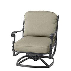 Florence Cushion Swivel Rocking Lounge Chair