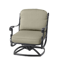 Florence Cushion Swivel Rocking Lounge Chair