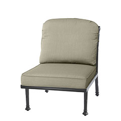 Florence Cushion Armless Lounge Chair