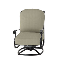 Florence Cushion High Back Swivel Rocking Lounge Chair