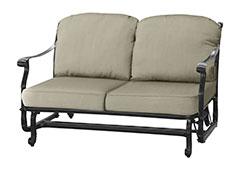 San Marino Cushion Loveseat Glider