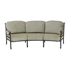 San Marino Cushion Curved Sofa