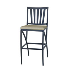 Amari Cushion Stationary Bar Stool