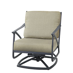 Amari Cushion Swivel Rocking Lounge Chair