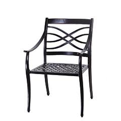 Wave Cushion Dining Chair