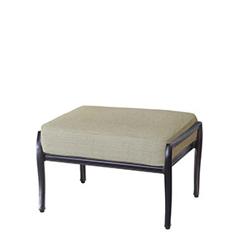 Edge & Wave Cushion Ottoman