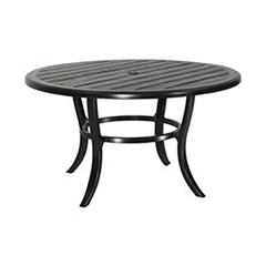 "Lattice 53"" Round Dining Table"