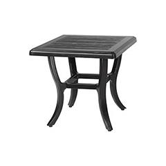 """Lattice 22"""" Square End Table"""