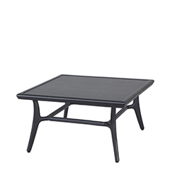"Fusion 40"" Square Coffee Table - 16"" Height"