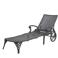 Columbia Cushion Chaise Lounge (K.D.)