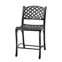 Columbia Cushion Stationary Balcony Stool w/o Arms