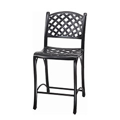 Columbia Cushion Stationary Bar Stool w/o Arms