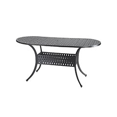 """Coordinate 42"""" x 72"""" Oval Dining Table"""