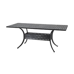 """Coordinate 42"""" x 72"""" Rectangular Boat Dining Table"""