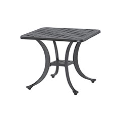 """Coordinate 21"""" Square End Table"""