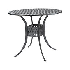 """Coordinate 42"""" Round Bar Table"""