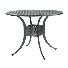 """Coordinate 48"""" Round Bar Table"""
