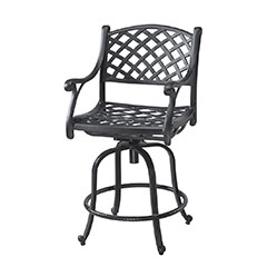 Columbia Cushion Swivel Balcony Stool