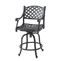 Columbia Cushion Swivel Bar Stool