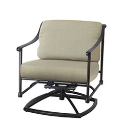 Morro Bay Cushion Swivel Rocking Lounge Chair