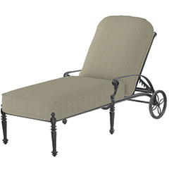 Grand Terrace Cushion Chaise Lounge