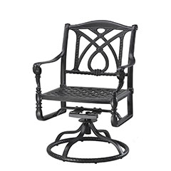 Grand Terrace Cushion Swivel Rocker