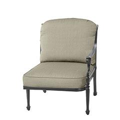 Grand Terrace Cushion Left Arm Lounge Chair