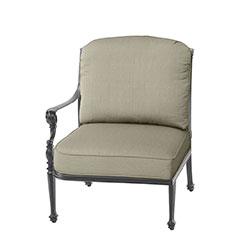 Grand Terrace Cushion Right Arm Lounge Chair
