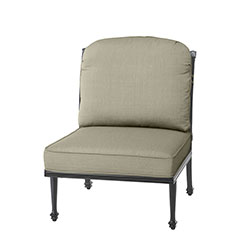 Grand Terrace Cushion Armless Lounge Chair