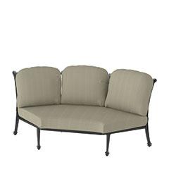 Grand Terrace Cushion Three-Back Corner Chair