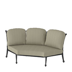 Grand Terrace Cushion Three-Back Corner Chair