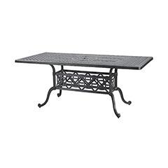 "Grand Terrace 42"" x 72"" Rectangular Dining Table"