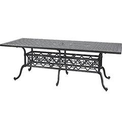 "Grand Terrace 48"" x 112"" Rectangular Dining Table"