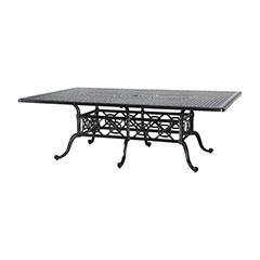 "Grand Terrace 60"" x 90"" Rectangular Dining Table"