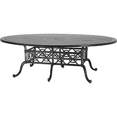"Grand Terrace 72"" x 102"" Geo  Balcony/Gathering Table"