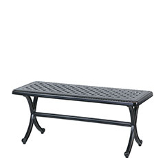 Grand Terrace Cushion Backless Bench