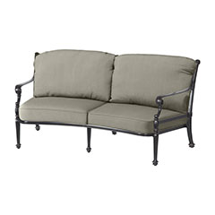 Grand Terrace Cushion Curved Loveseat