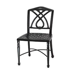Terrace Cushion Café Chair w/o Arms - Welded