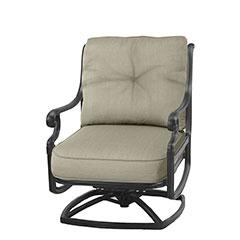 Dynasty Cushion Swivel Rocking Lounge Chair